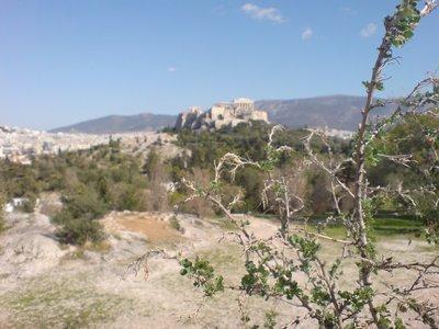 Akropolis mal aus einem anderen Winkel