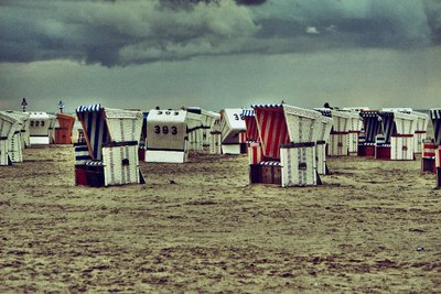 Cool Beach baskets @ Sankt Peter-Ording