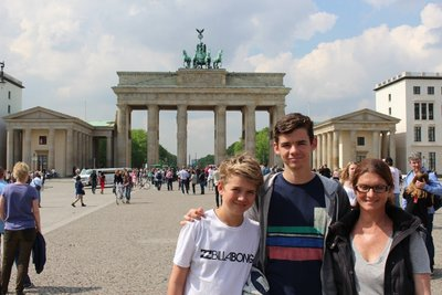 @Brandenburg Gate
