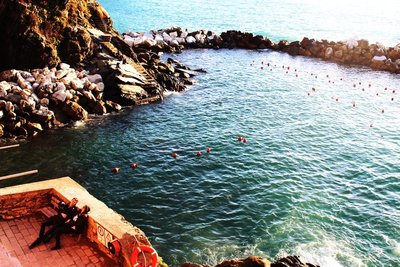 Chilling out in Cinque Terre