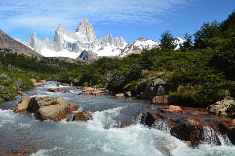 Patagonian Landscape - Mount Fitzroy