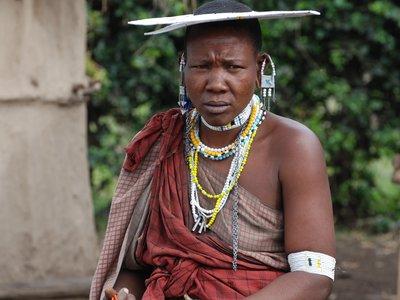 Masai lady