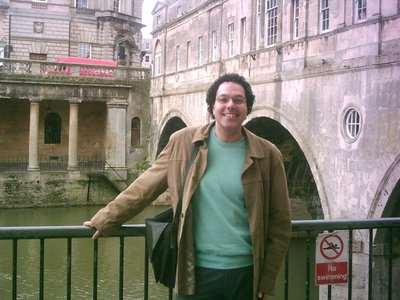 Bath - By the Pulteney Bridge