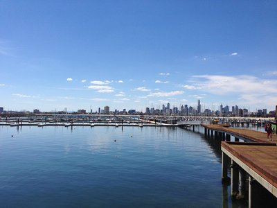 Melbourne from St. Kilda