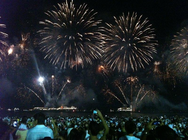 NYE2013 fireworks
