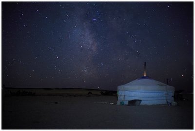 Space looks good in Mongolia