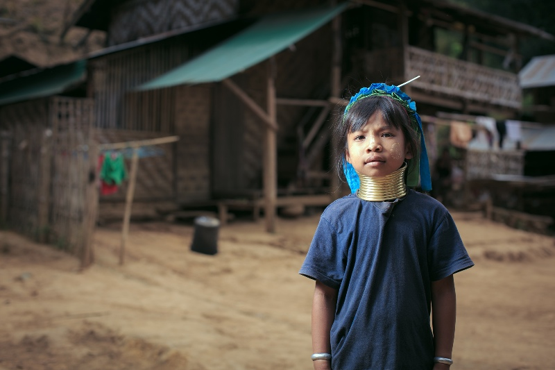 Karen tribe girl