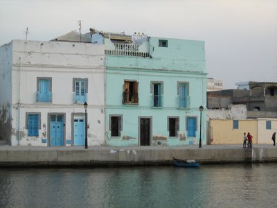 POrt Side Houses Bizerte