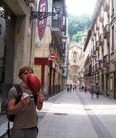 Chillin in San Sebasitan 'Old Town'