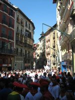 Running of the bulls; day time party