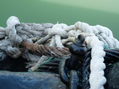 boating ropes Photo by Leah Acason
