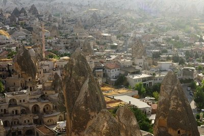 Cityscape detail 3 - Göreme (Turkey)