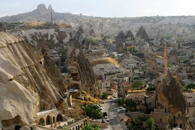 View of the town - Göreme (Turkey)