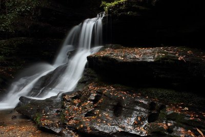 Martins Creek Falls, GA-USA