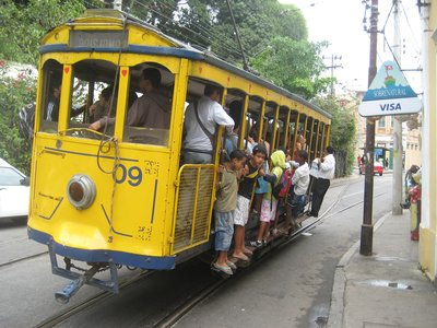 The tram!