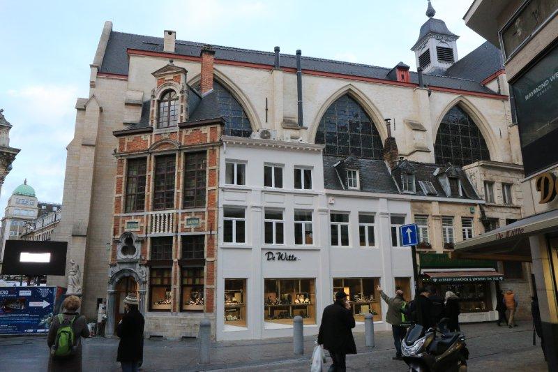 Some buildings in Brussells