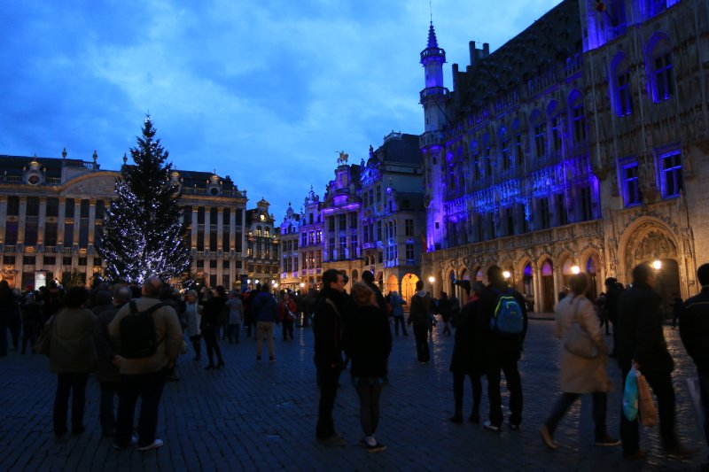 The light show, Brussels