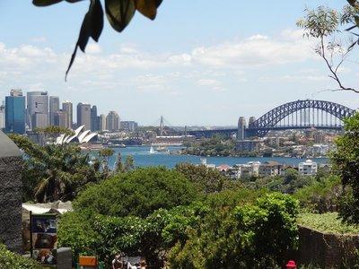 Blick vom Taronga Zoo auf Sydney