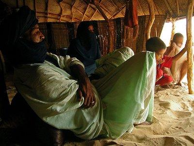 Tuareg family