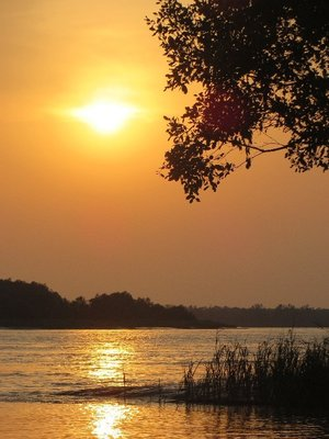 Sunset at Sunderbans