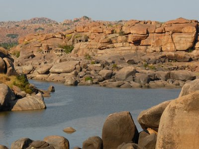 River in Hampi