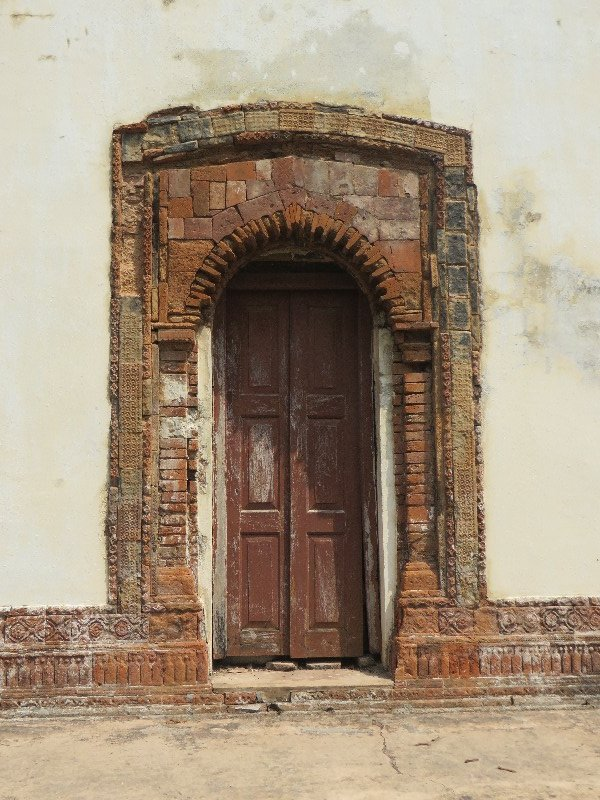 Doorway to temple