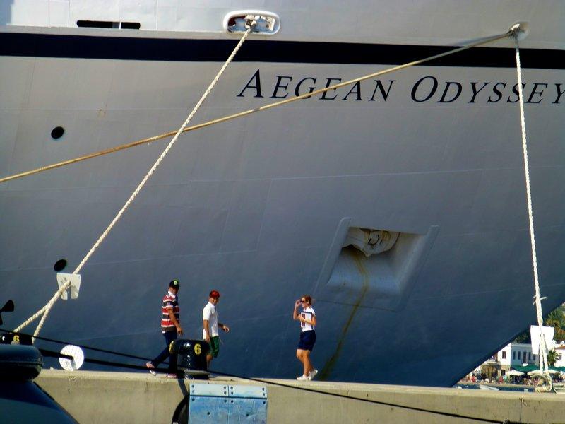 THE AEGEAN ODYSSEY