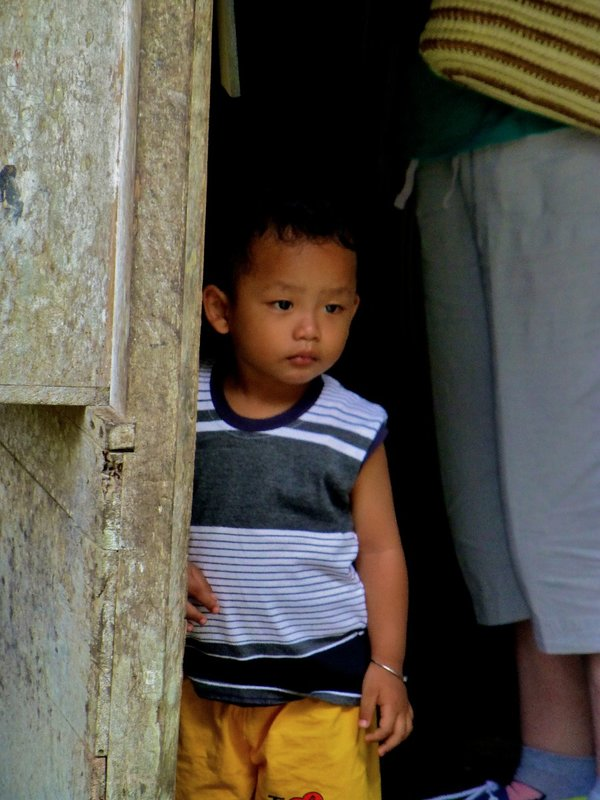 Curious child in Indonesia