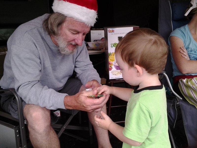 Grandpa and Blake