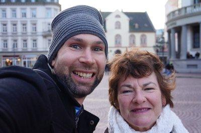 Josh and Olga in Wiesbaden