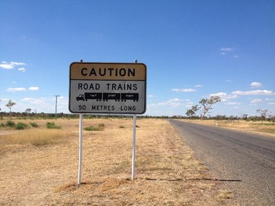 Road out of Longreach