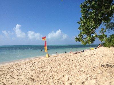 Beach on Green island