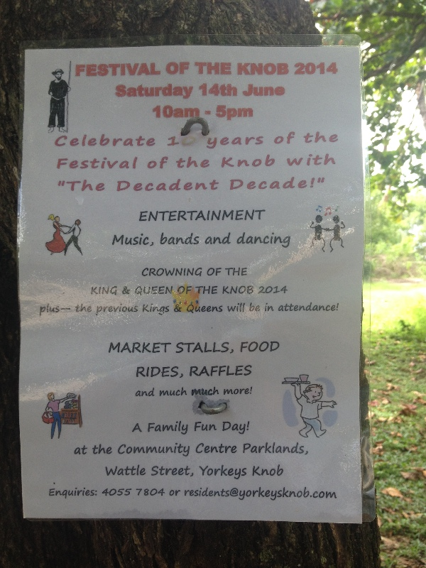 Dubious sounding festival...