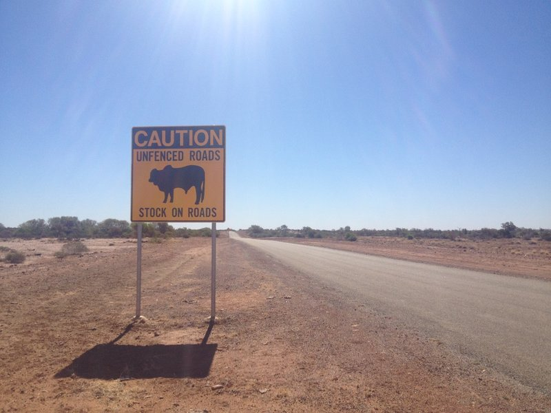 Road to Gascoyne Junction