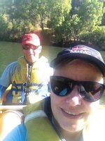 Canoeing the gorge