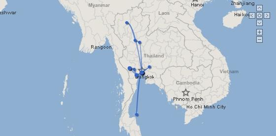 map - all Thai