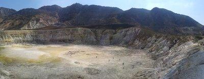 Le cratère de Nisyros