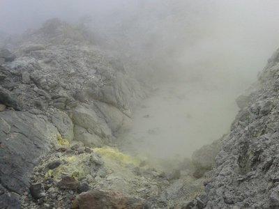 La gueule du volcan