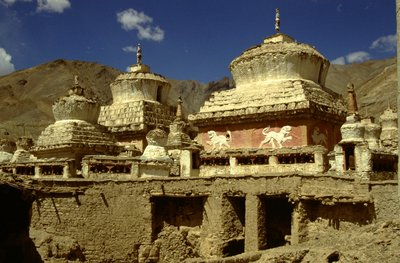 Stupas à Lamayuru