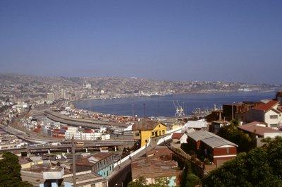 La baie de Valparaiso