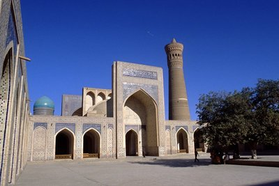 Mosquée et minaret Kalon