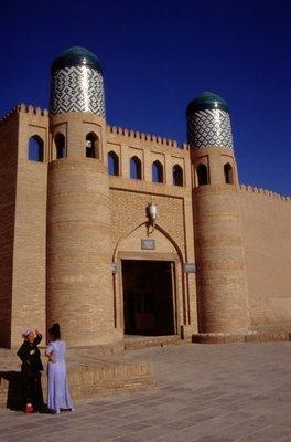 Une porte de la citadelle