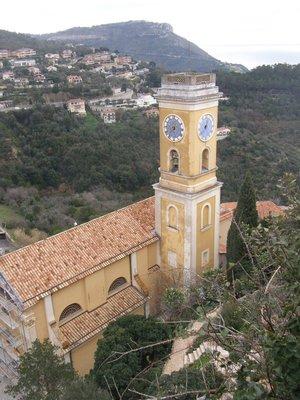 L'église d'Eze