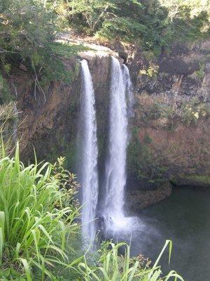 Wallua falls