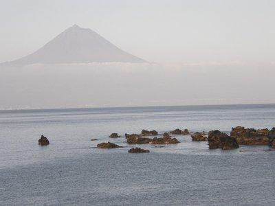 Le Pico vu de Sao Jorge