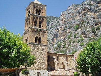 Église Notre Dame de l'Assomption à Moustiers