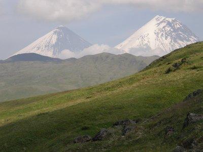 Le Klioutchevskoï et le Kamin