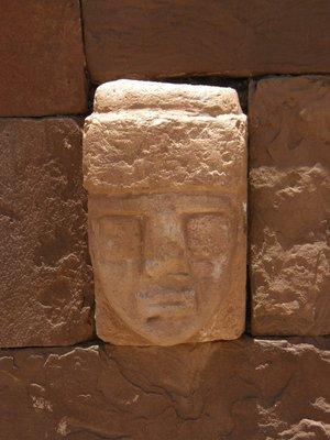 Tête à Tihuanaco