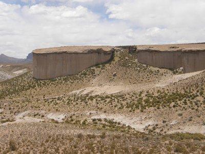 Mesa al sur de Guadalupe