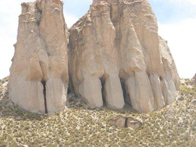 Les portes de pierre